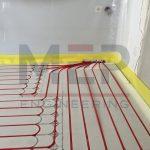 Ενδοδαπέδια Θέρμανση Ξηράς Δόμησης Χαμηλού Προφίλ Ξάνθη