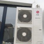 Θέρμανση-Κλιματισμός με LG VRF με αεραγωγούς Scenario Cafe bar Κομοτηνή
